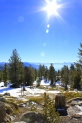 Lake Tahoe shot from Mt Rose in January