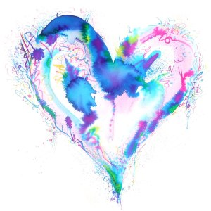 Abstract-watercolour-art-painting-Love-Heart-00-by-Emma-Plunkett