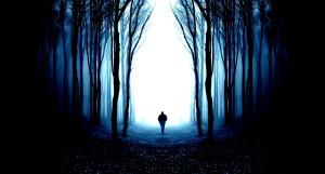 the_journey_alone_forest_man_blue_abstract_high_contrast_hd-wallpaper-1721880