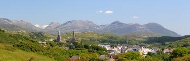 Clifden town